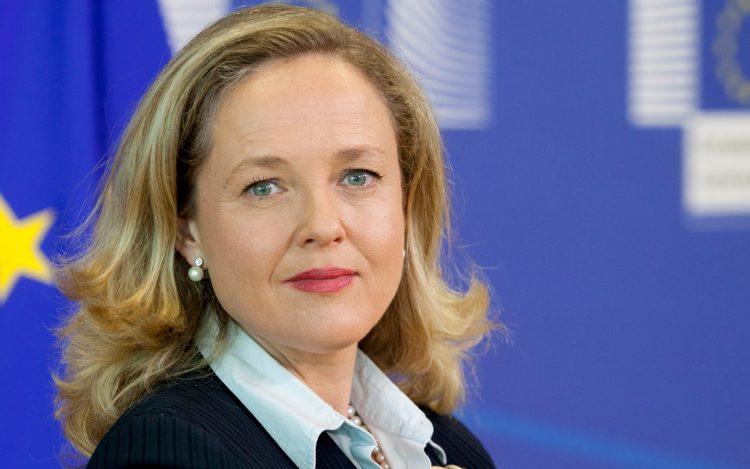 Nadia Calviño, vicepresidenta segunda y ministra de Asuntos Económicos de España. (EFE)