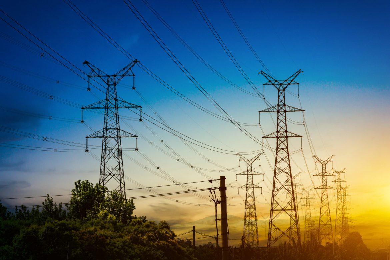 Torres de energía eléctrica